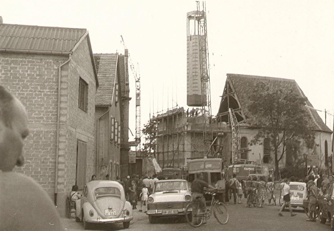 Katholische Kirche, vor Sanierung 1965