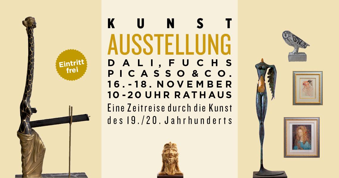 Austellung mit Dali, Fuchs und Picasso
